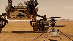 NASA's Ingenuity Mars helicopter makes historic first flight