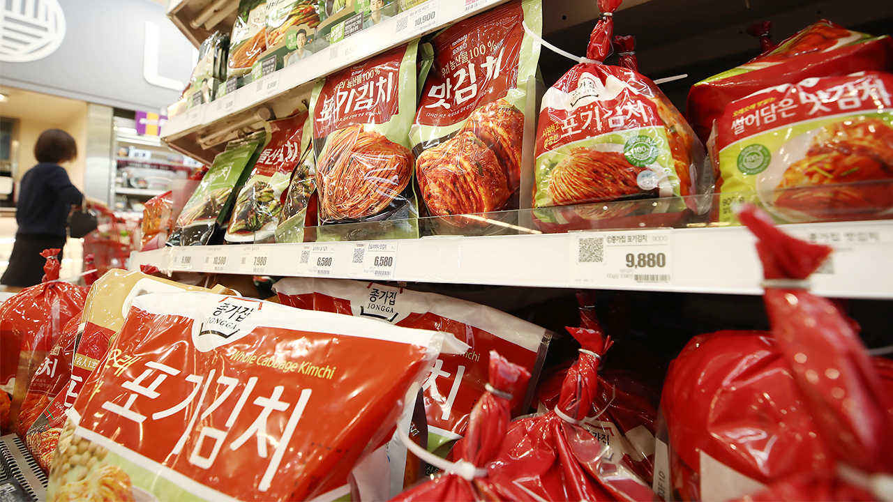 S. Korea's exports of 'kimchi' hit all-time high in Q1