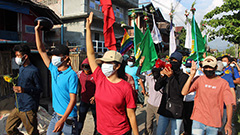 Over 700 people killed in Myanmar since military coup, core industries heavily impacted