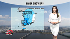 Summer-like heat to ease off tomorrow...showers in south
