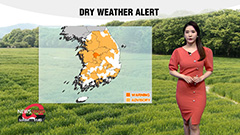 Dry conditions nationwide... l