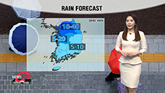Nationwide showers starting to