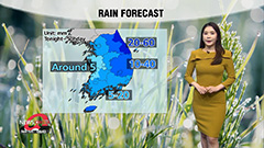 Showers to start tonight in south...nationwide rainfall tomorrow