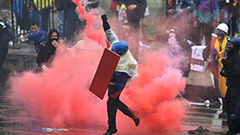 World condemns violence in Colombia protest suppression by gov't