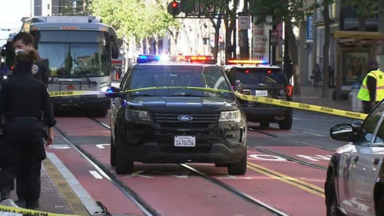 Two older Asian women stabbed in downtown San Francisco on Tuesday