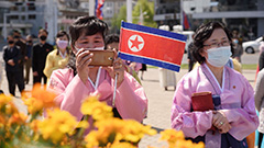 North Korea's nuclear weapons and millenials: British artist releases photo book of life in Pyeongyang