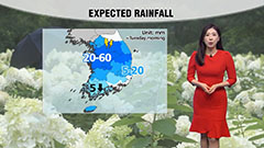 Rain across country with breezy winds