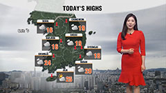 Rain across country, cool highs but good air quality