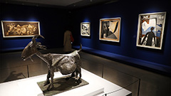 Large-scale retrospective exhibition on Pablo Picasso; 'Massacre in Korea' shown for first time