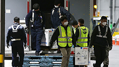 438,000 extra doses of Pfizer vaccine arrive in S. Korea via air
