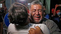 Israel-Palestine conflict enters third day with at least 62 dead