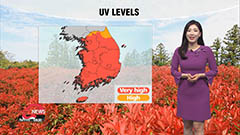 Summer-like weather across country under sunny skies