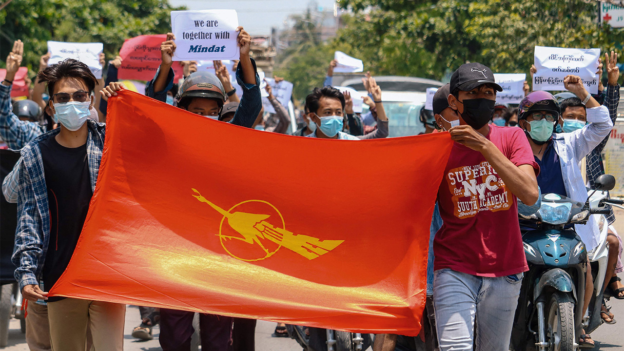 At least six opposition rebels killed in Myanmar amid clashes