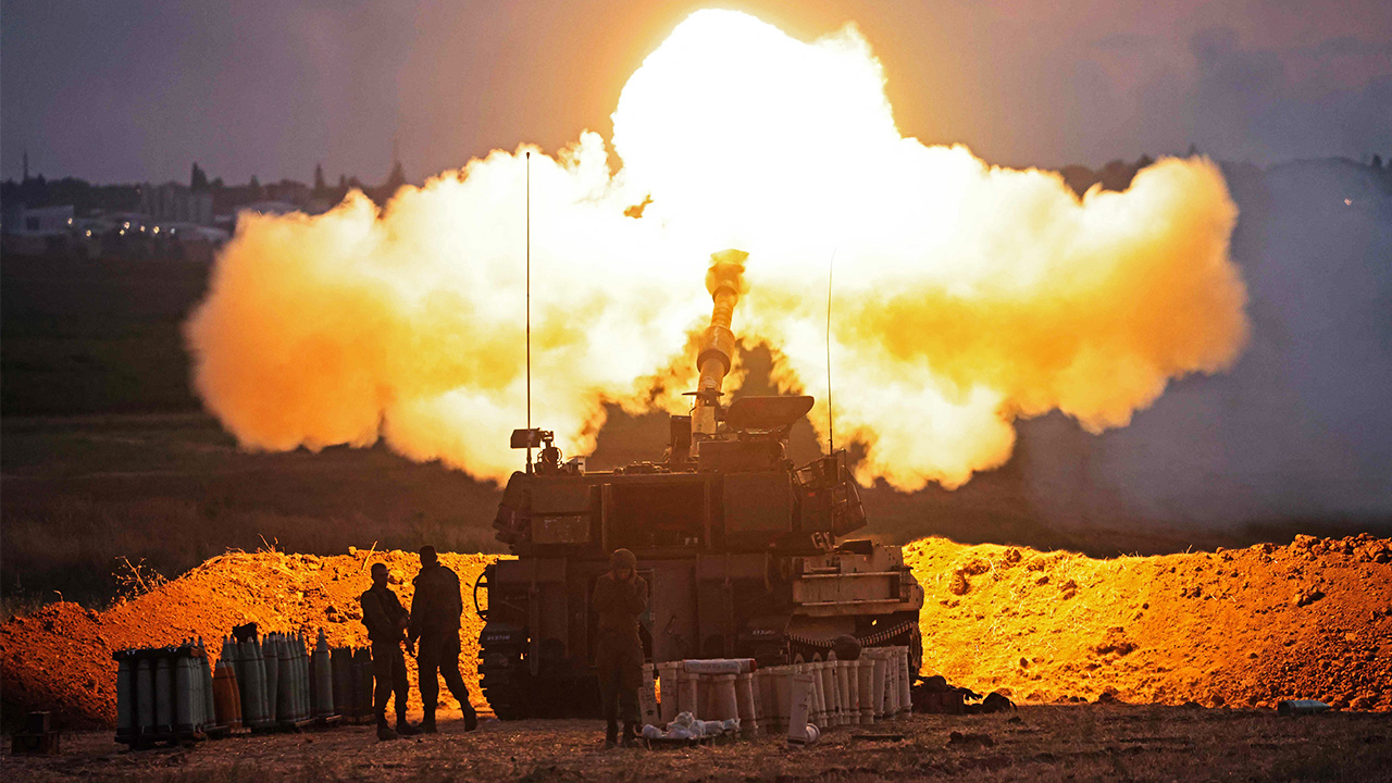 Israeli military unleashes another heavy wave of airstrikes on Gaza Strip
