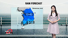 More nationwide rain tomorrow...be wary of hail and gusty winds