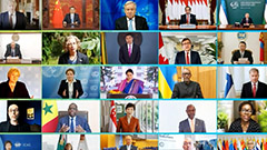 Leaders stress global cooperation to accomplish sustainable environmental recovery
