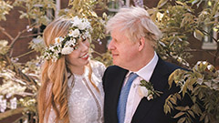 Johnson becomes first UK PM to get married while in office in nearly 200 years