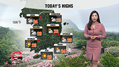 Cloudy up north, sunny down south...warmer highs