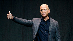 Amazon founder Jeff Bezos is set to go to space on July 20th