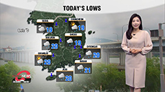 Rain to let up in afternoon, heavy rain on Jeju and south coast