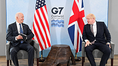 U.S., UK renew Atlantic Charter to highlight their commitment to tackling new global challenges