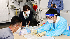 Vaccine doses given to 23% of S. Korea's population; 452 new COVID-19 cases on Sunday