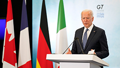 G7 leaders call for 'timely, transparent' investigation into origin of COVID-19
