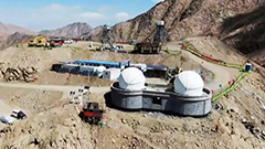 China builds Mars simulation camp in desert landscape similar to the red planet