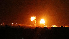 Israel launches airstrikes on Gaza in response to incendiary balloons