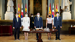S. Korea, Spain share so much connection, will open future of shared prosperity: Moon