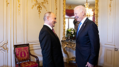 Biden, Putin agree on areas of mutual cooperation in their first face-to-face summit since taking office