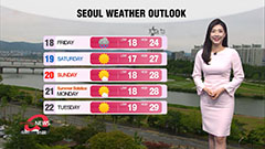 Breezy and cloudy nationwide