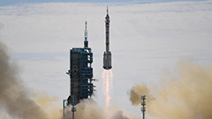 Astronauts enter space station core module after docking of Shenzhou-12