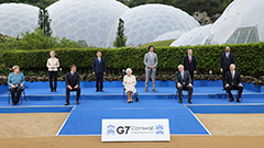 President Moon's Communications Secy. Reviews Moon's G7 Cornwall, Europe Tour