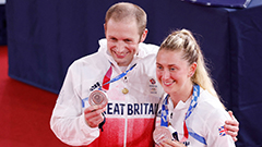 Track cyclist couple Laura and Jason Kenny to be dame and knight with 12 golds between them