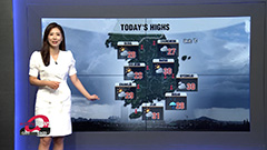 Torrential rain on nation with rain and wind wave watches