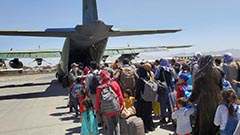 Military plane carrying Afghans set to arrive in S. Korea on Thursday afternoon