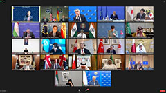 FMs from more than 20 countries gather online to discuss situation in Afghanistan