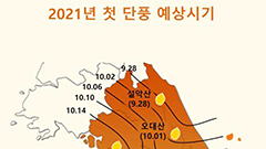 Leaves to change color later than usual in S. Korea
