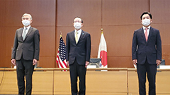 S. Korea, U.S., Japan nuclear chiefs likely discussed N. Korea's provocation, humanitarian aid