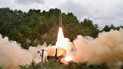 N. Korea's ballistic missiles fired on Wednesday were launched from train: KCNA