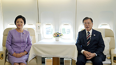 First couple gives Chuseok m