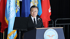 President Moon wraps up Hawaii trip following transfer of war remains