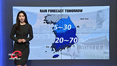 Heavy showers for the South through tomorrow dawn...clear spells to return