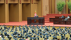 N. Korean leader says inter-Korean communication lines will be restored in early Oct.