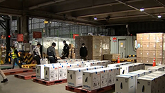 Some 436,000 Pfizer doses arrive in S. Korea on Sat.