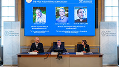 3 economists awarded Nobel Prize for work on natural experiments
