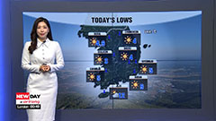 Cold snap this morning, sunny skies all day for most areas