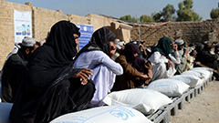 WFP calls for urgent help for millions of Afghans facing food crisis