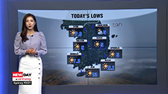 Fine autumn weather in store under mostly sunny skies